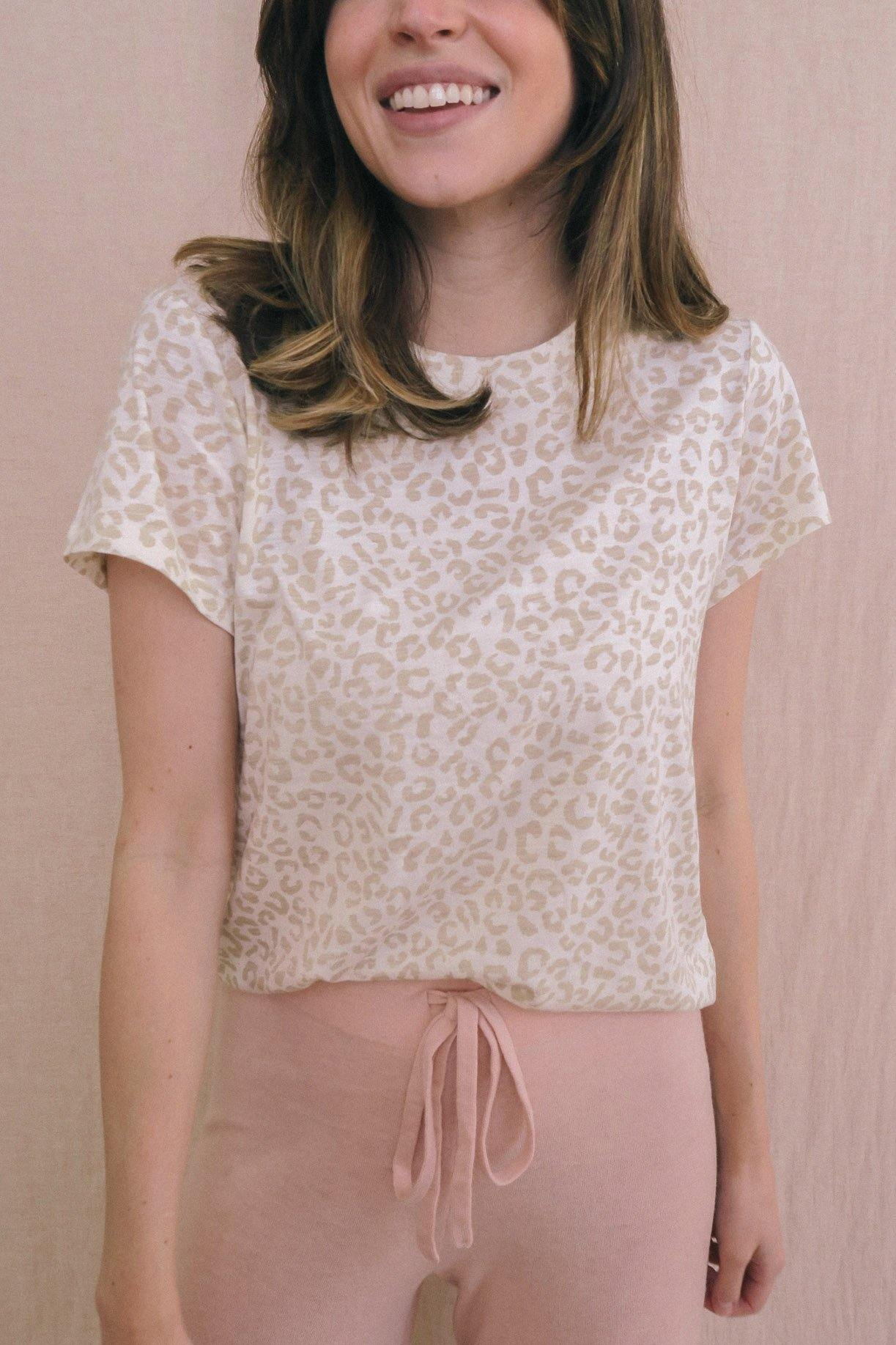 Perfect Tee in Leopard - Sweet & Spark