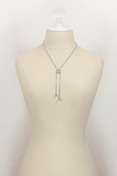 Vintage Emmons Snake Chain Loop Necklace