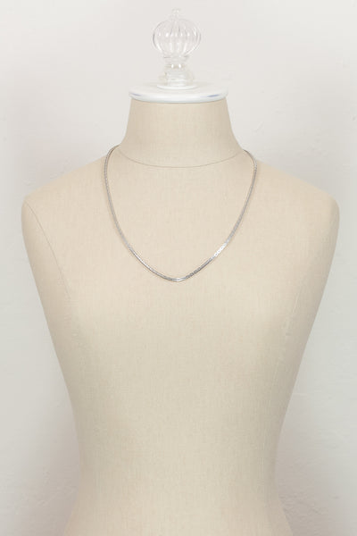 60's__Sarah Coventry__Rectangular Chain Necklace