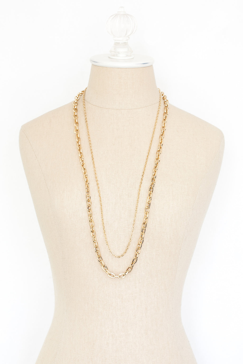 80's__Beeline__Multi Chain Necklace