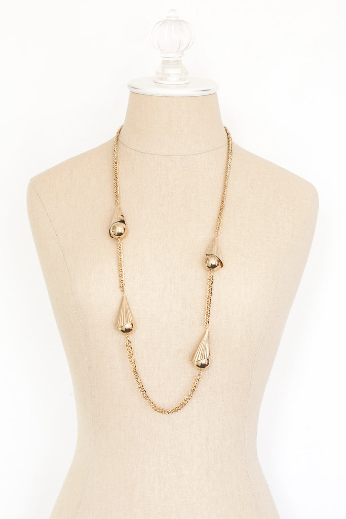 60's__Vintage__Chunky Ball Necklace