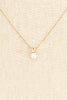 50's__Vintage__Dainty Pearl Necklace