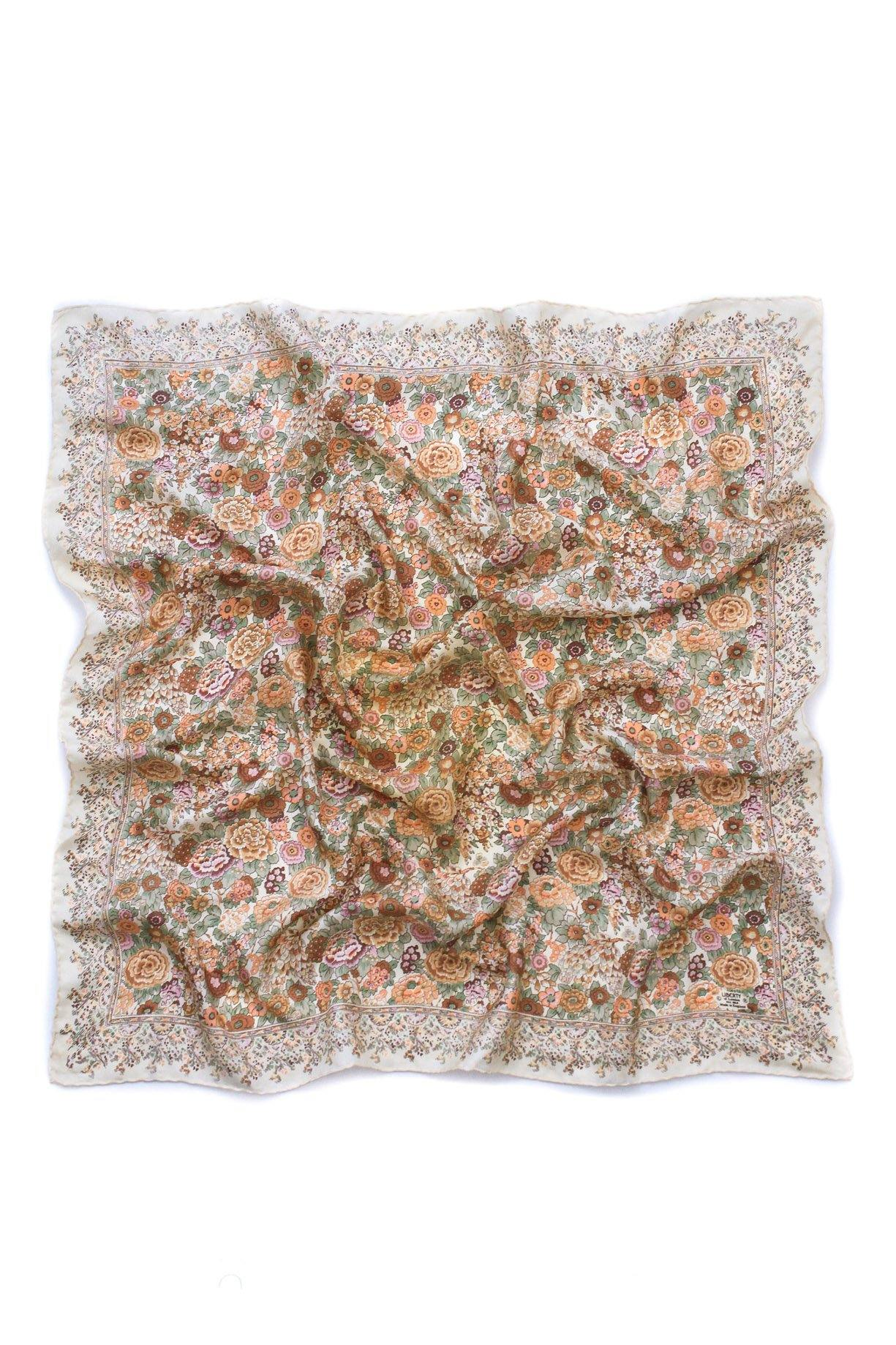 Liberty of London Nude Florals Square Scarf