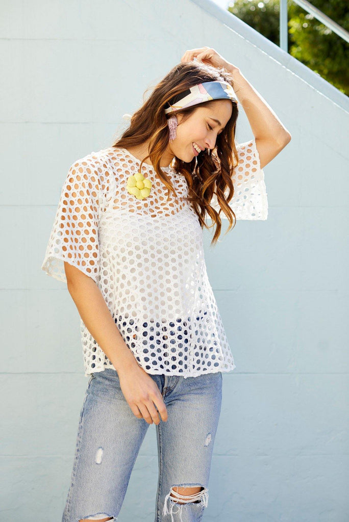 Ranael Swing Dot Top