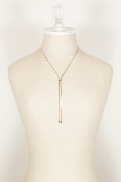 80's__Amway__Dainty Bolo Necklace