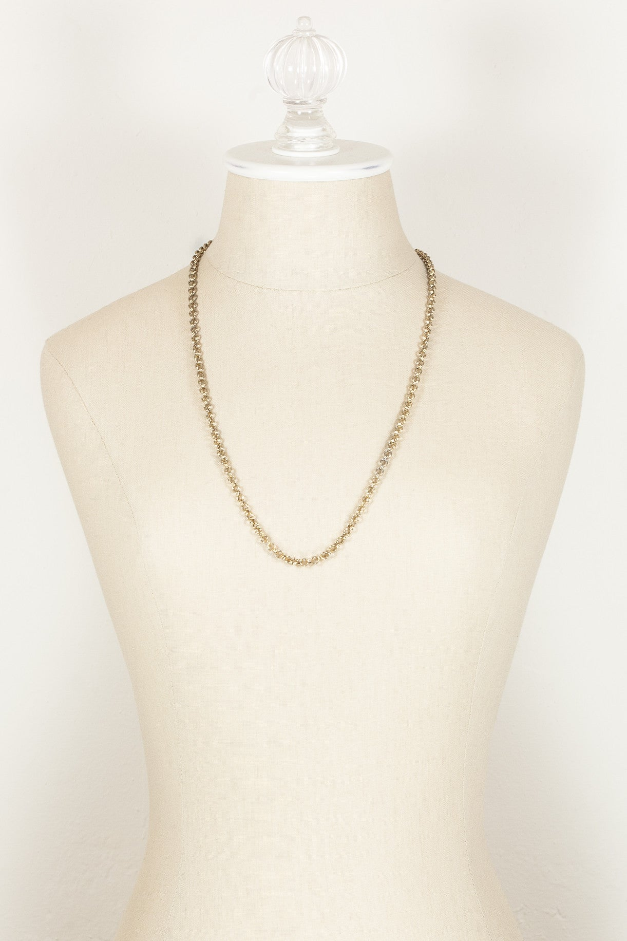 70's__Monet__Simple Chain Necklace