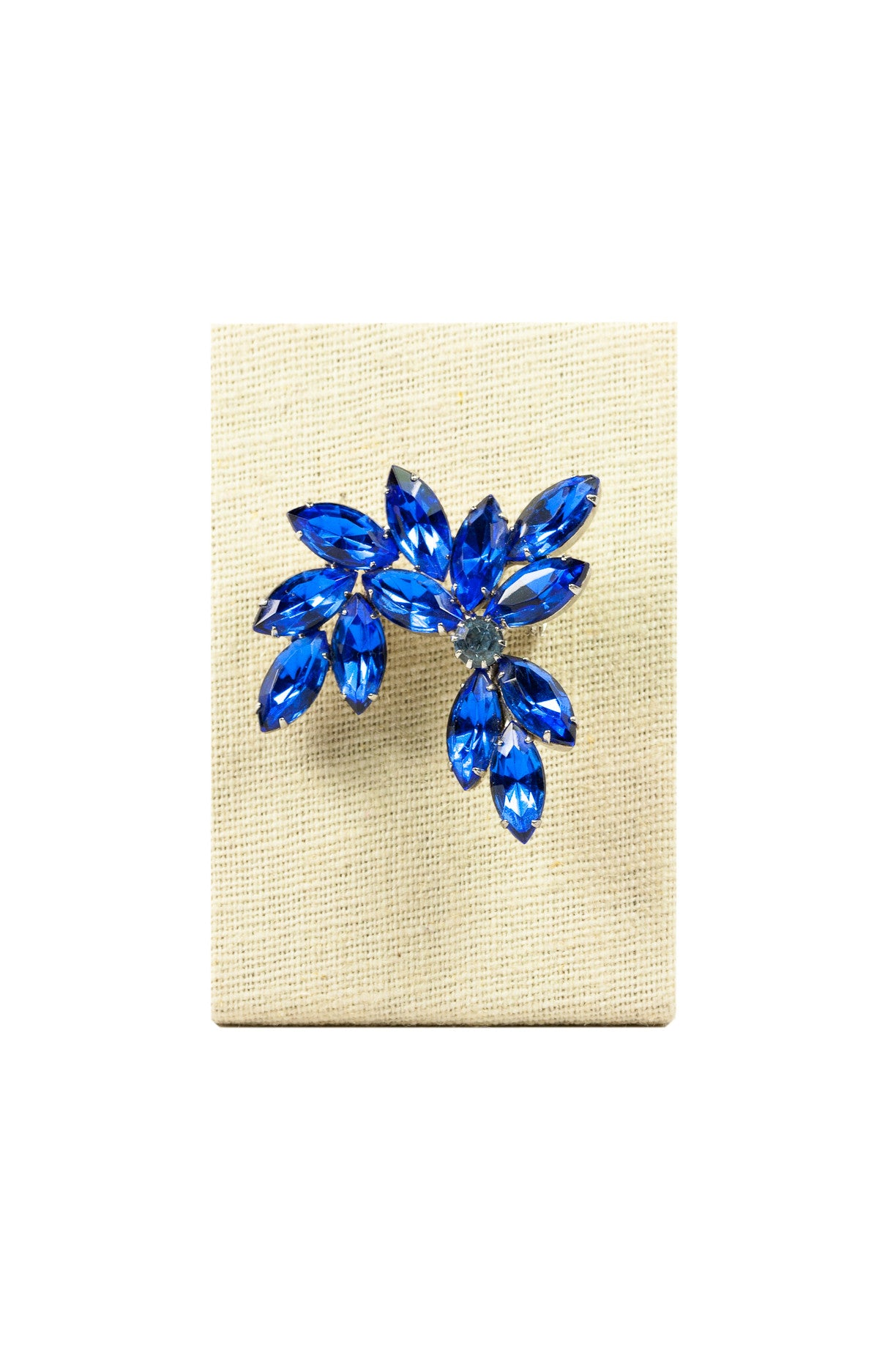 50's__Vintage__Something Blue Brooch