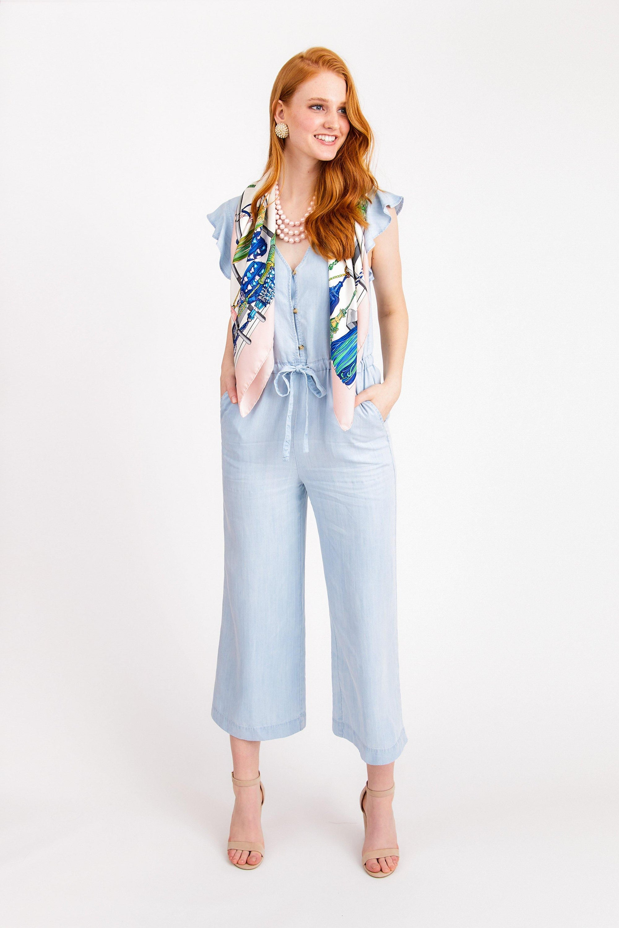 Sanctuary Mica Ruffle Sleeve Jumpsuit From Sweet & Spark