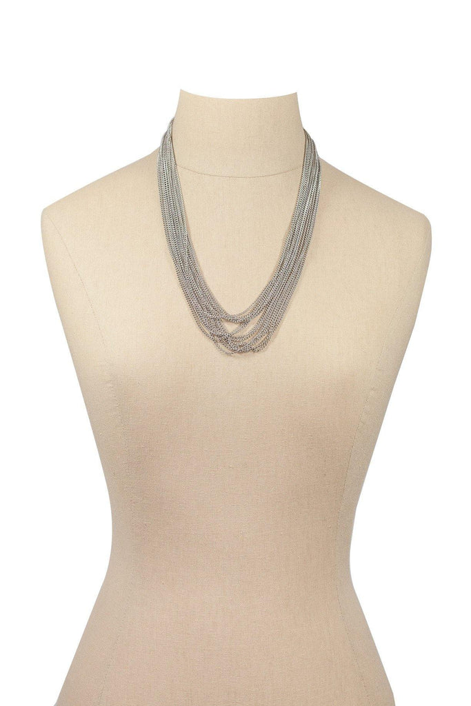 70's__Vintage__Multi-Chain Necklace