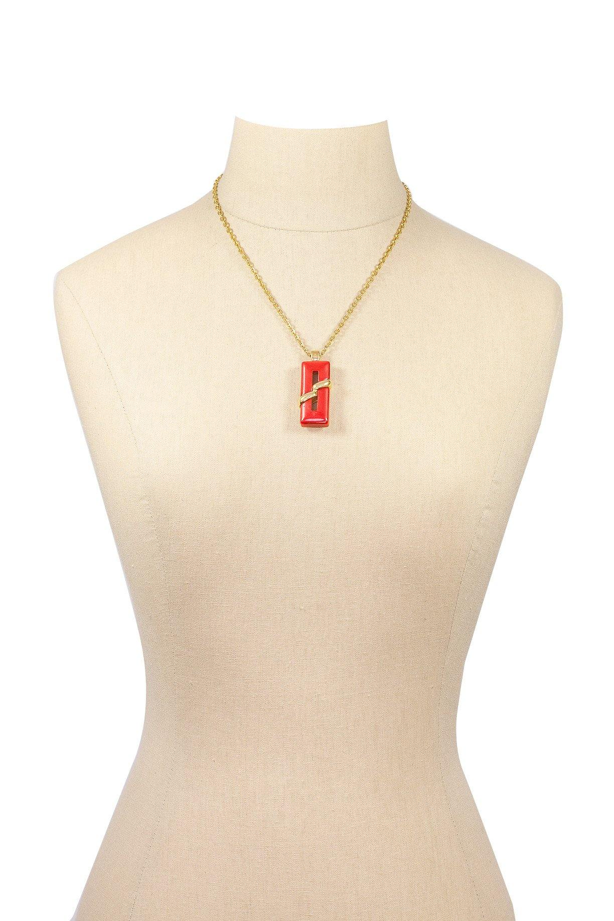 60's__Trifari__Pendant Necklace