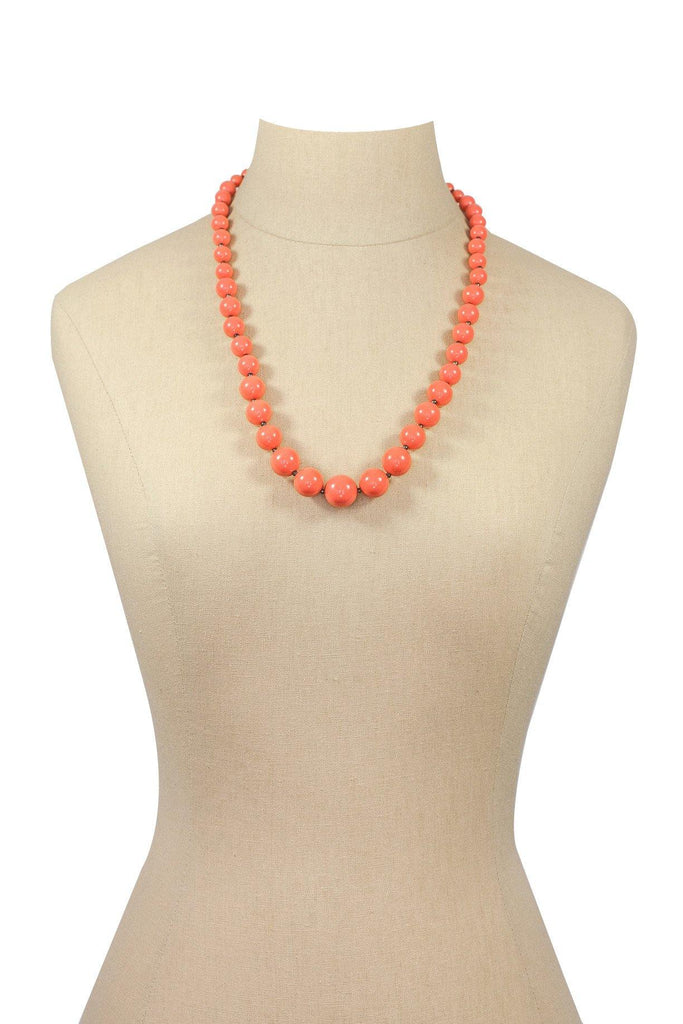 60's__Vintage__Beaded Necklace
