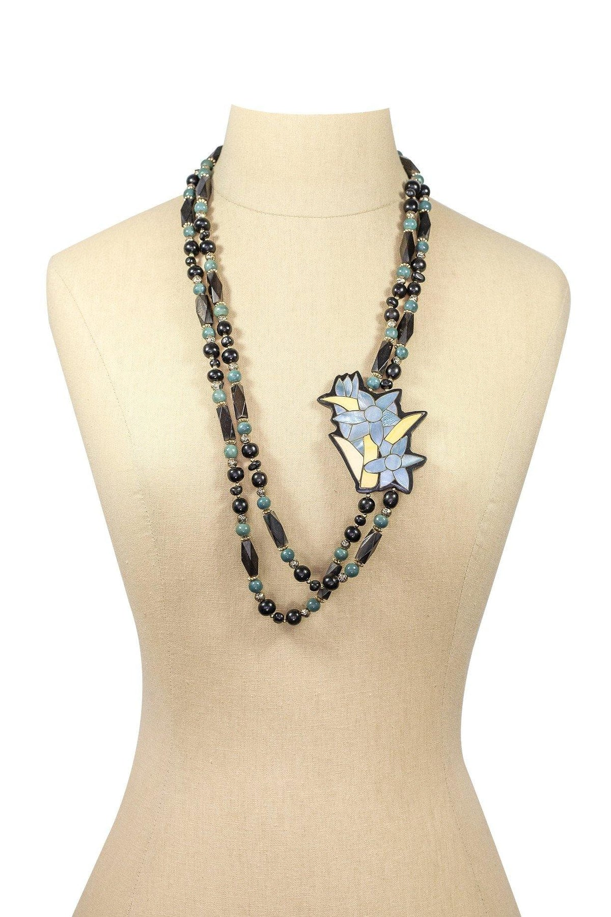 80's Vintage Beaded Necklace