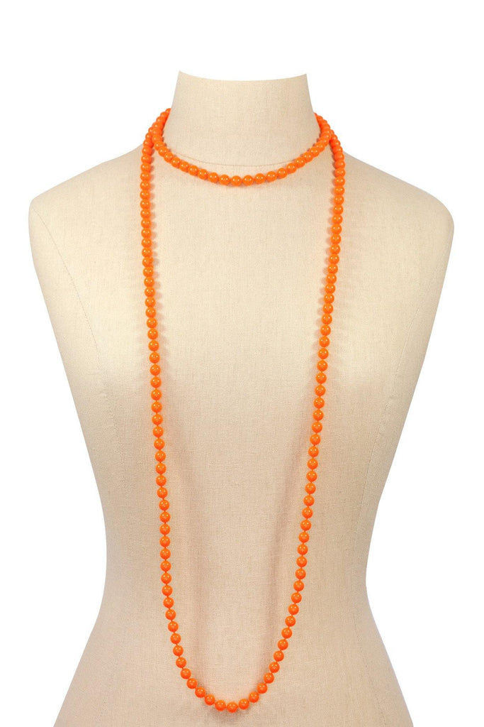 60's__Vintage__Beaded Layering Necklace