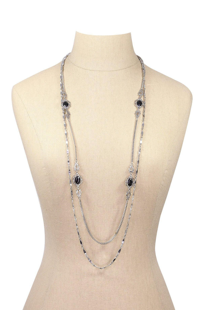 60's__Sarah Coventry__Multi-Chain Necklace