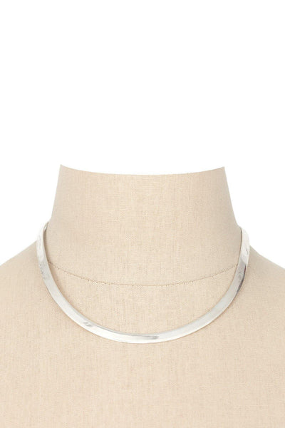 70's__Vintage__Silver Choker Necklace