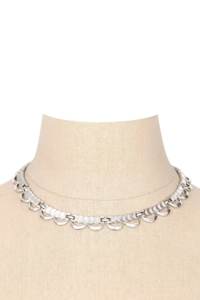 60's__Monet__Scalloped Necklace