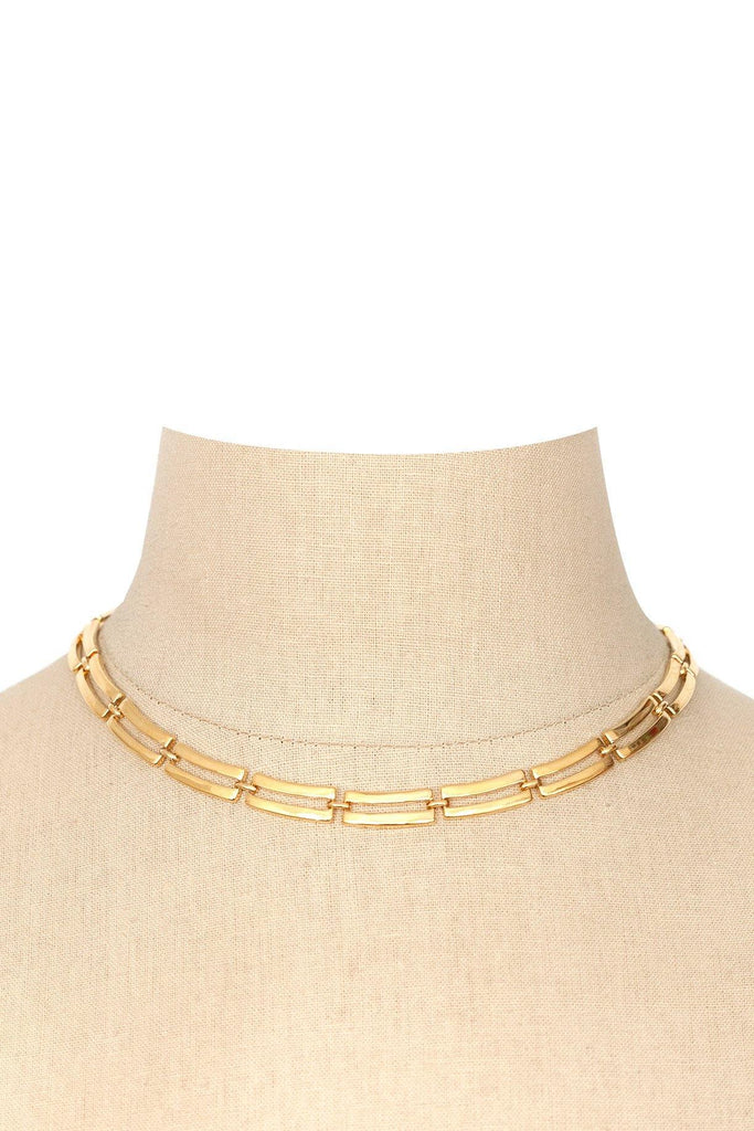 70s__Monet__Classic Gold Necklace