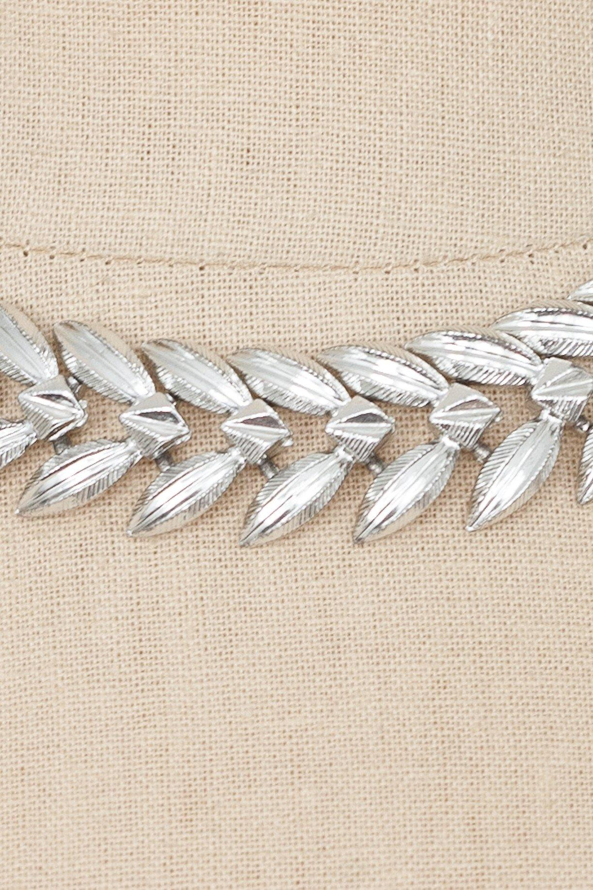 60's__Coro__Leaf Necklace