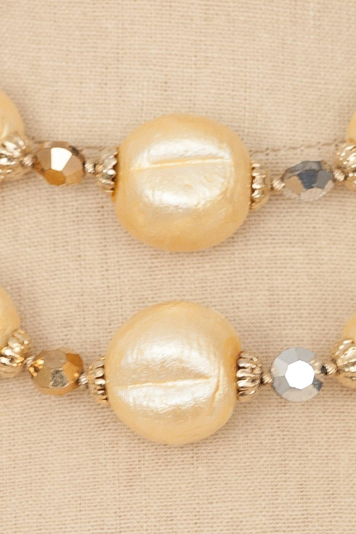 50's Vendome Beaded Multi-Strand Necklace