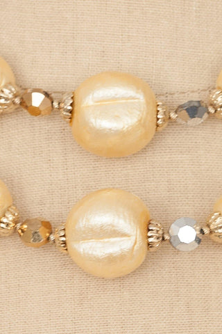 50's__Vendome__Beaded Multi-Strand Necklace