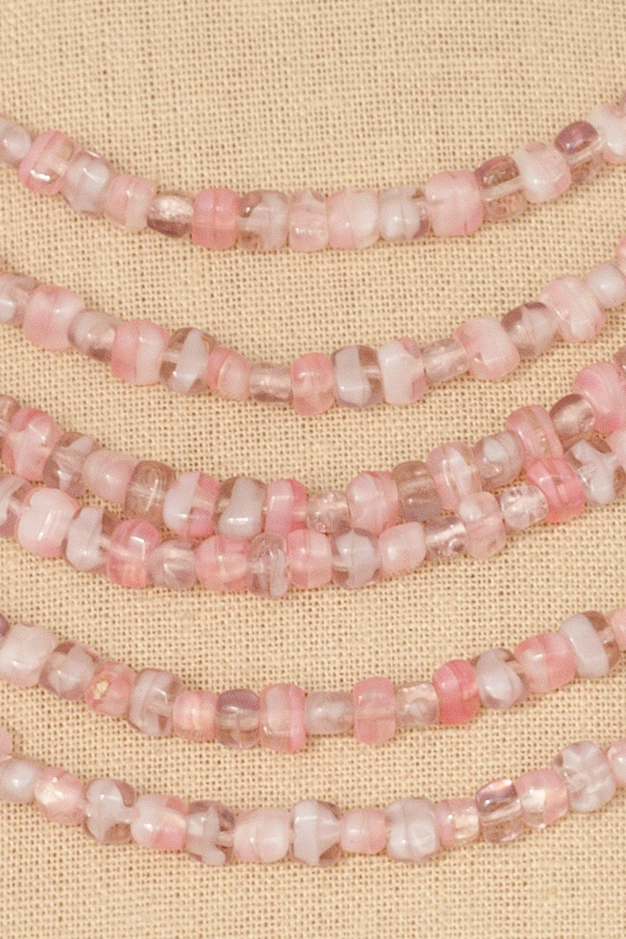 50's__Alice Caviness__Beaded Multi-Strand Necklace