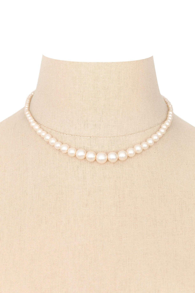 50's__Vintage__Classic Pearl Necklace