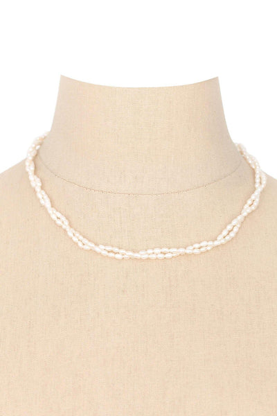 80's__Vintage__Dainty Pearl Necklace