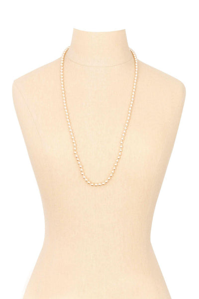 50's__Kenneth Jay Lane__Classic Pearl Necklace
