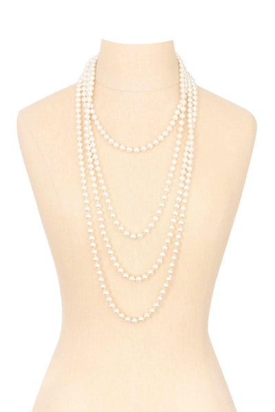 80's__Vintage__Pearl Layering Necklace