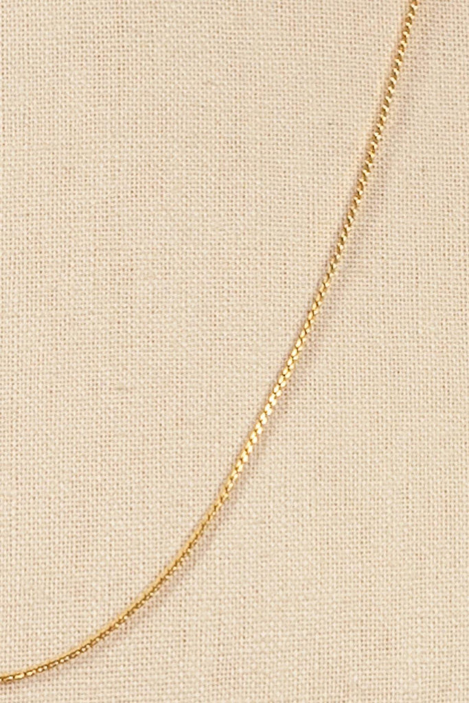 80's__Monet__Dainty Chain Necklace