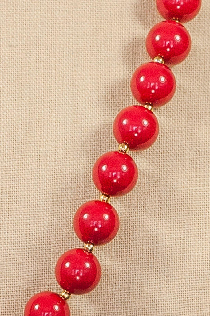 80's__Vintage__Beaded Necklace