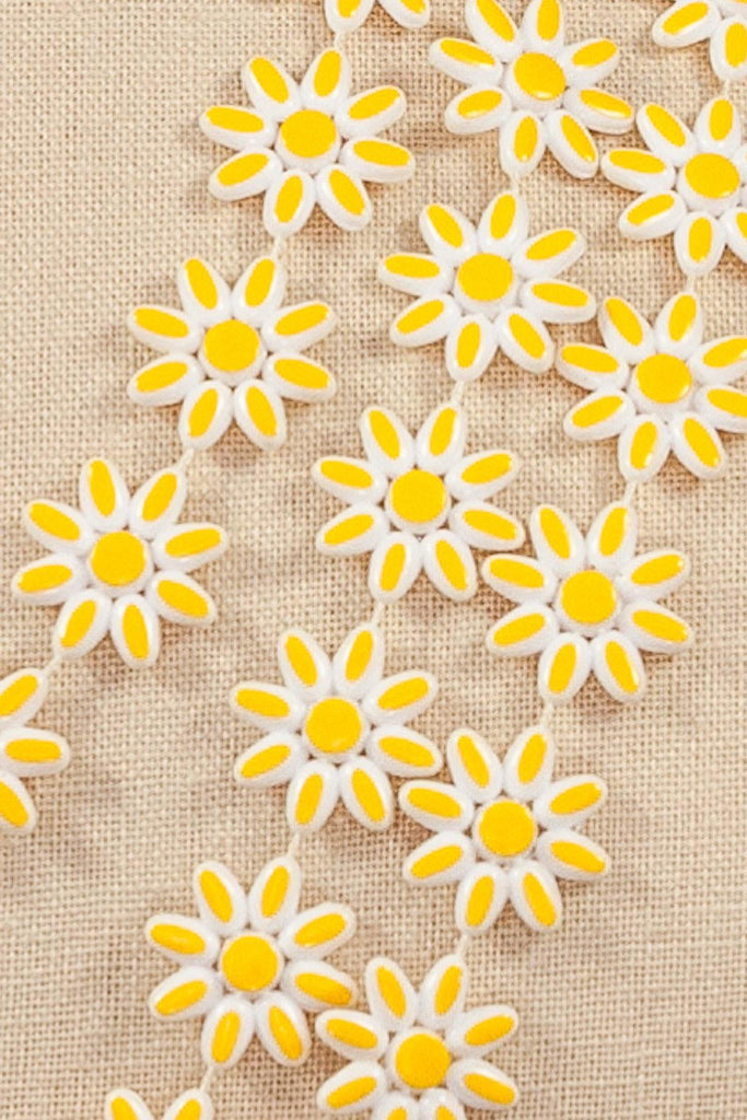 60's__Vintage__Daisy Layering Necklace