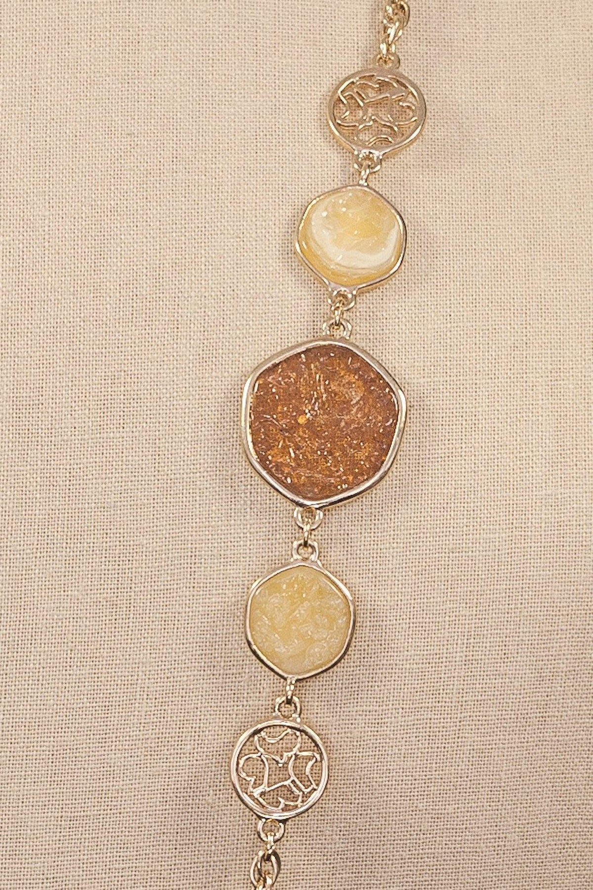 60's Sarah Coventry Embellished Layering Necklace