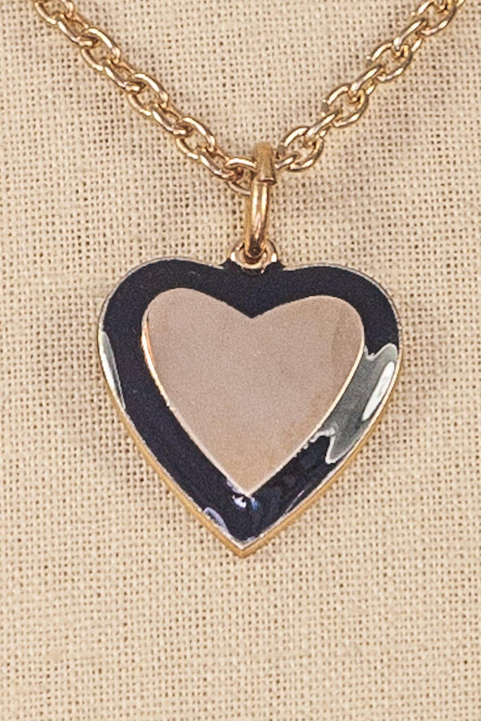 70's__Vintage__Heart Pendant Necklace