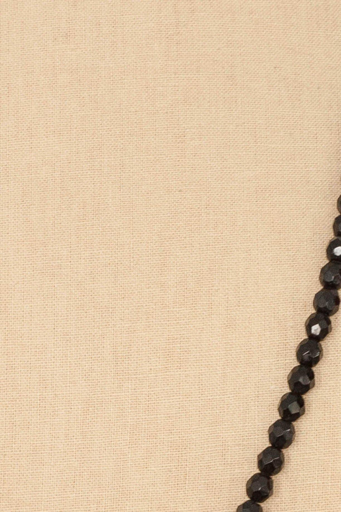 50's__Vintage__Beaded Long Necklace