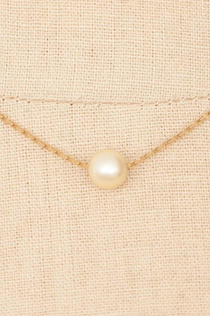 80's__Napier__Dainty Pearl Necklace