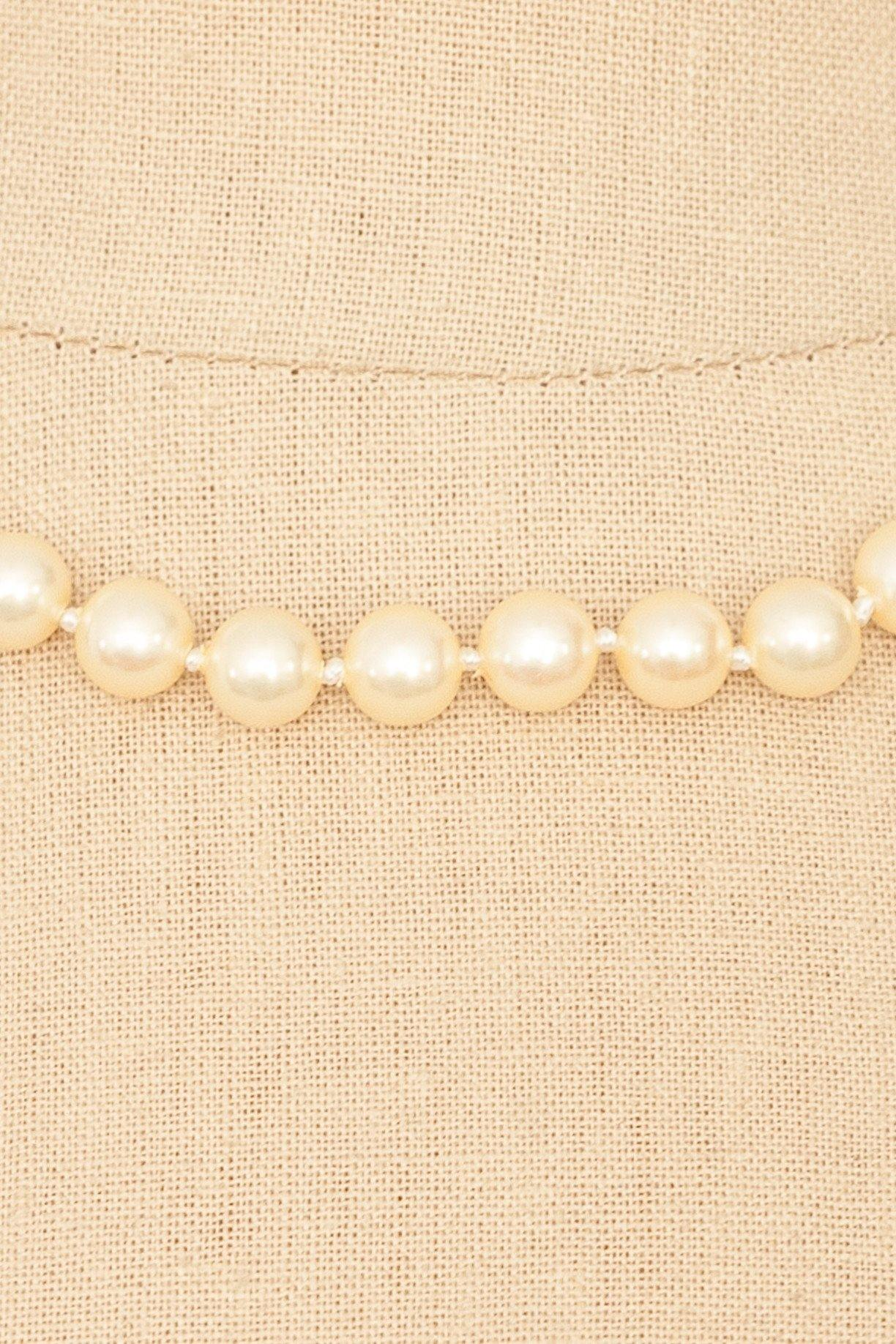 80's__Marvella__Classic Pearl Necklace