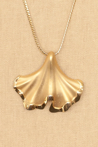 70's__Direction One__Gold Pendant Necklace