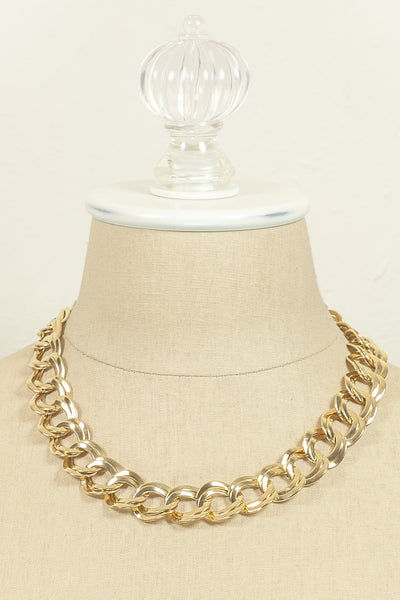 Vintage Double Link Necklace