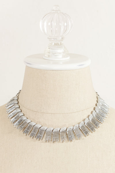70's __Sarah Coventry__Fringe Necklace