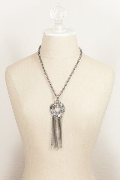 70's__Sarah Coventry__Statement Tassel Necklace