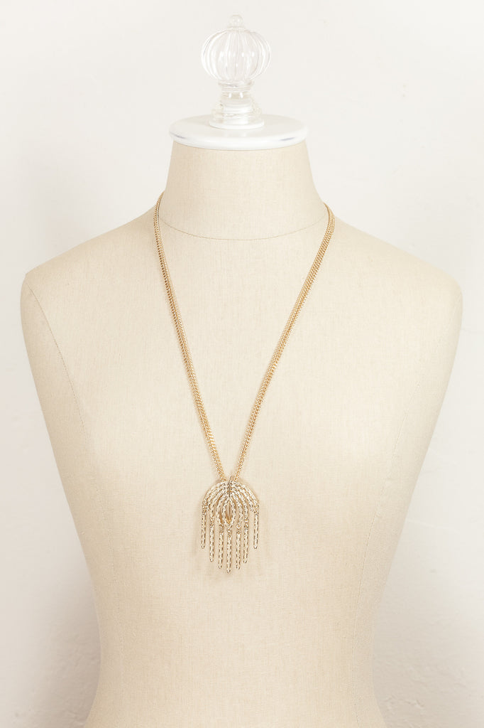 70's__Sarah Coventry__Western Tassel Necklace