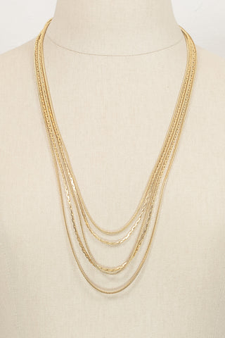 70's__Givenchy__Multi Chain Necklace
