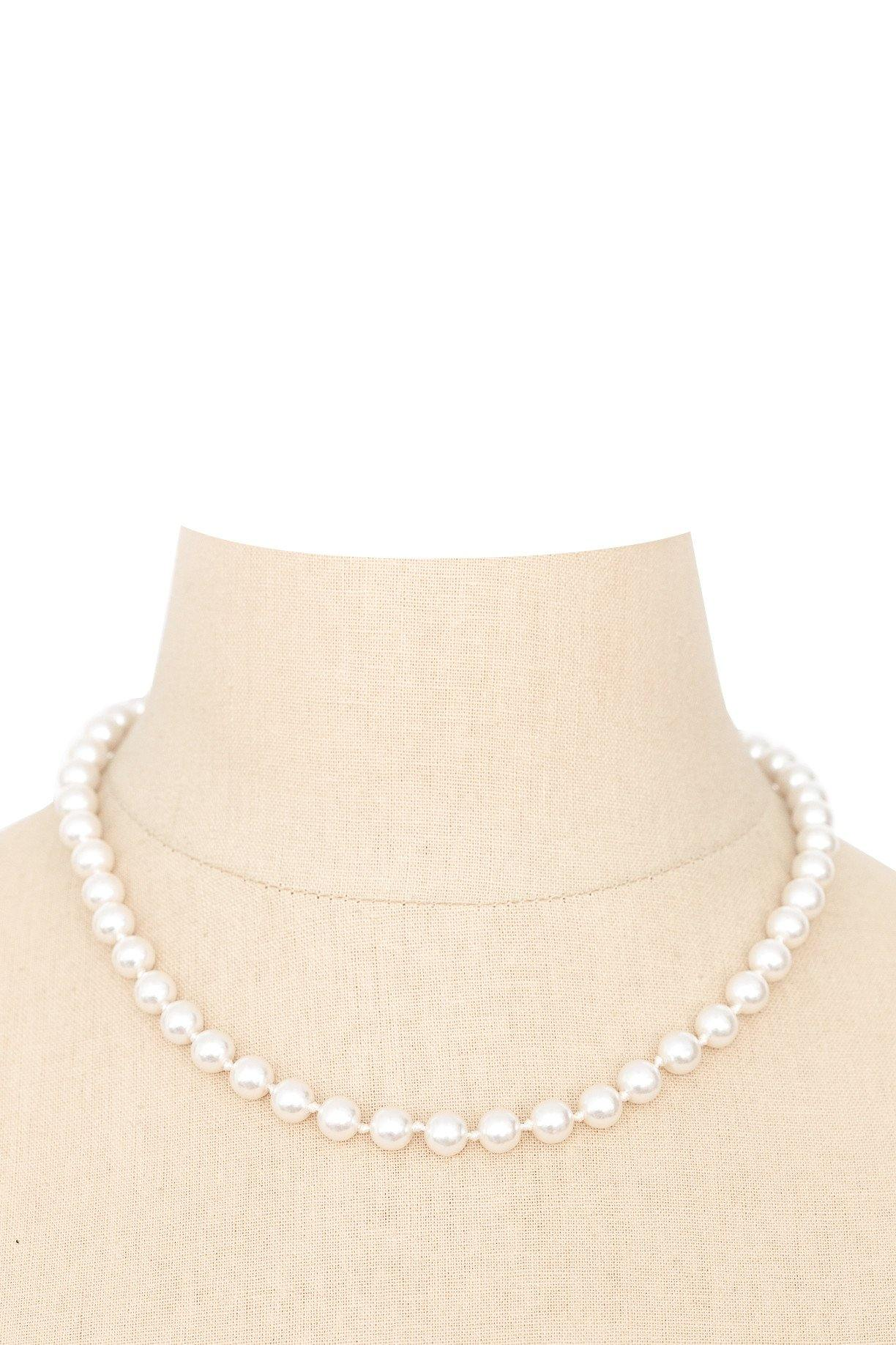 80's__Vintage__Classic Pearl Necklace