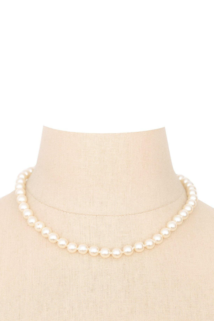 60's__Vintage__Classic Pearl Necklace