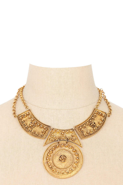 80's__Vintage__Statement Bib Necklace