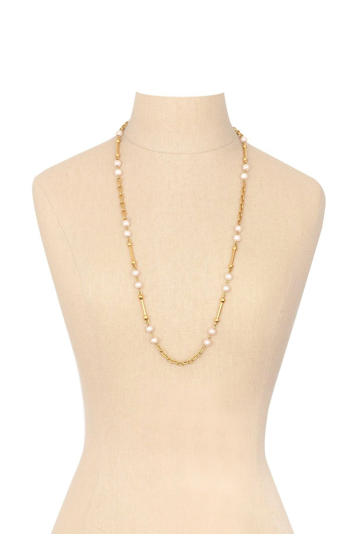 80's Amway Pearl Layering Necklace