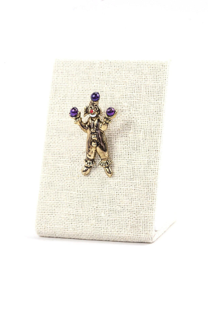 70's__Vintage__Mini Clown Brooch