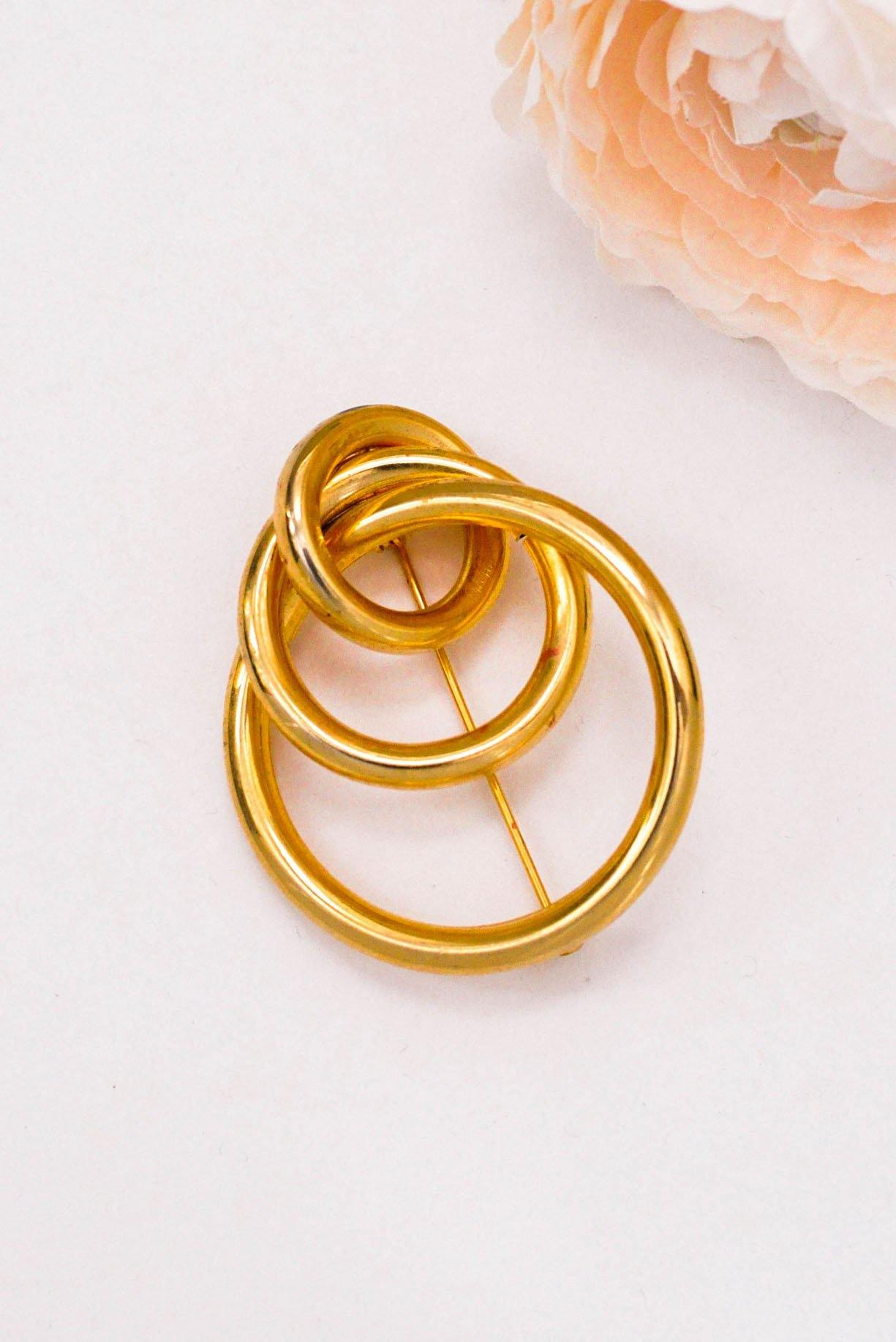 Statement Ring Brooch