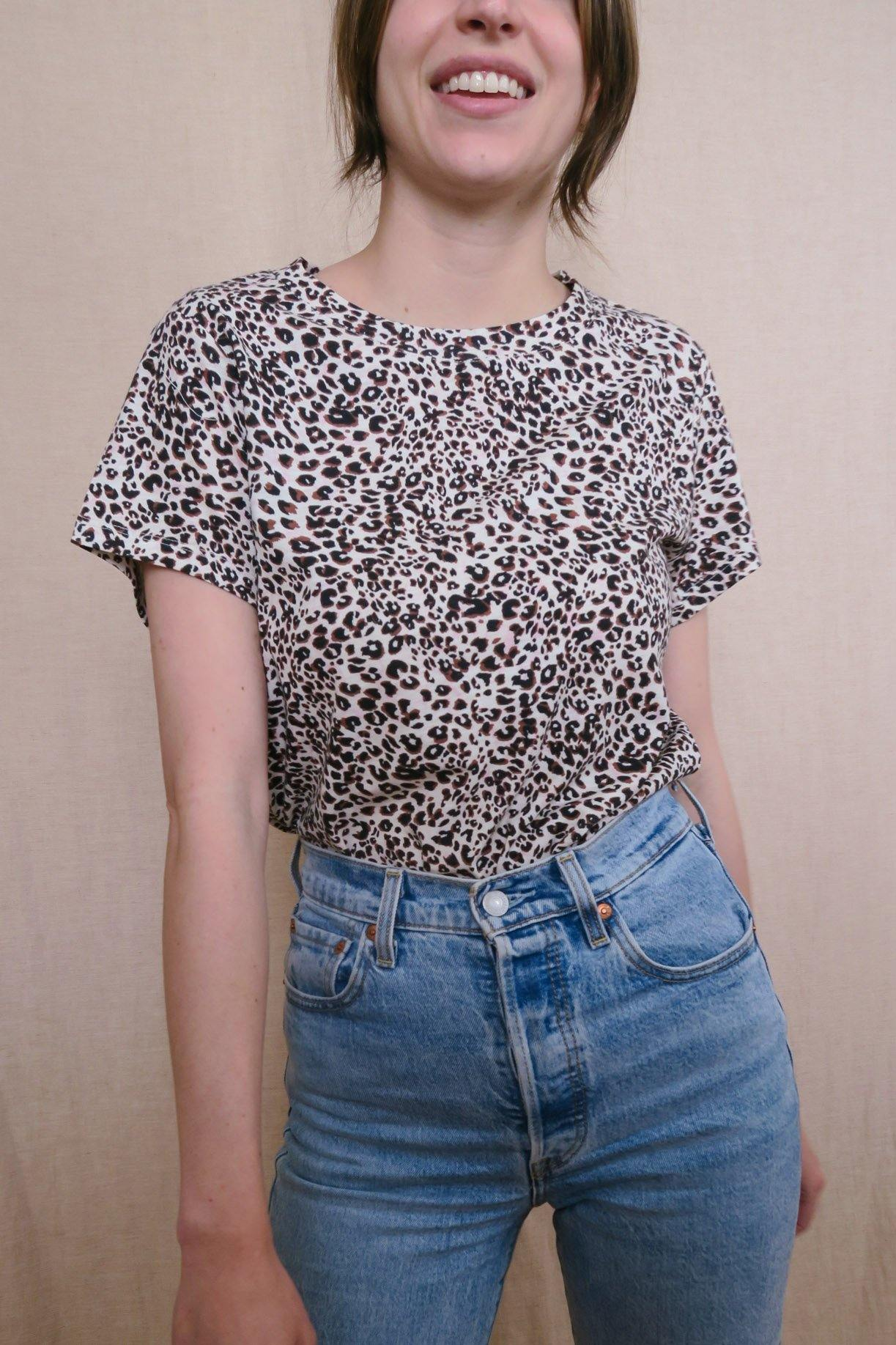 Sanctuary Perfect Tee in Leopard